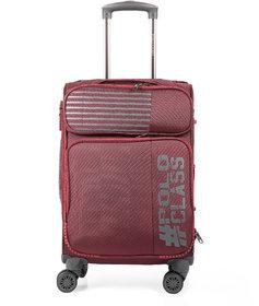 Polo Class Semi Soft Luggage Trolley Bag 24