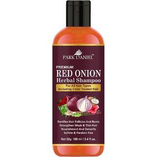 Park Daniel Premium RED ONION OIL Herbal Shampoo 100 ml