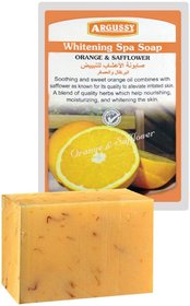 Argussy Spa whitening soap 100g Thailand product Pack of 1 (Orange  Safflower)