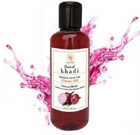 Khadi Herbal Red Onion Hair Oil (100 ml)