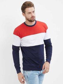 Vicky Men's Multicolor Round Neck T-shirt
