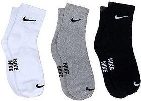 Takson Sales Unisex Cotton Ankle Length Socks (Pack of 3)