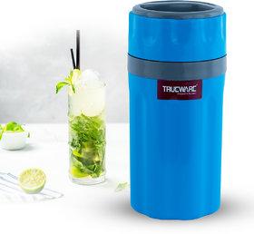 Trueware Insulated Tuff Flask 300 ML, Blue