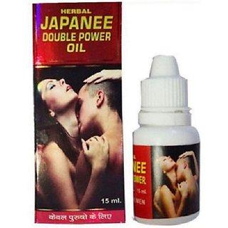 Japan double power oil ( time delay oil for men) set of 2