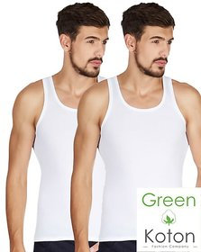 Green Koton - Maxi mens vest (pack of 2)