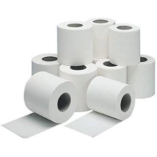 Joy Box 2 Ply Soft Toilet Tissue Paper Rolls Toilet Rolls Pack of 10 Rolls