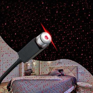 Lazywindow Car Auto Roof Star Projector Lights USB Portable