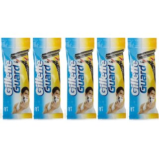 Gillette Guard Five Razors (Pack of 5)