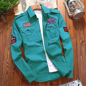 Freaky Patrol Double Pocket Patch Shirt