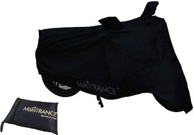 Mototrance Black Bike Body Cover For Enfield Classic 350