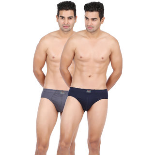 Lyril Men Classic Brief Pack of 2 (Assorted Color)