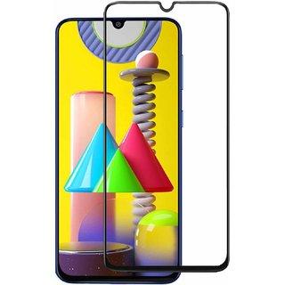 dIZOM Edge To Edge Tempered Glass for Samsung Galaxy F41, Samsung Galaxy M31 (Pack of 1)