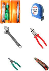 TAPARIA/FREEMAN Set of 6 Hand Tool Combo.