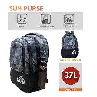 Sun Purse 3002-Lion-Grey Backpack