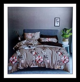 King Size Double Bedsheet with 2 Pillow Covers