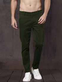 Freaky Dark Mehndi Casual Trouser for Men