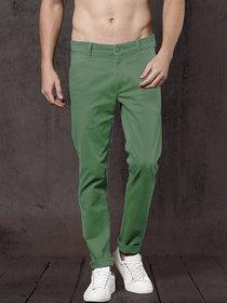 Freaky Light Mehndi Casual Trouser for Men