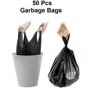 Garbage / Dust Bin Bag - 50 Pieces (17x23 Inch)