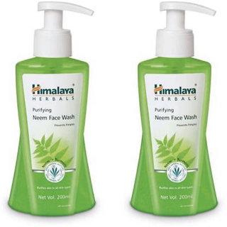 HIMALAYA PURIFYING NEEM FACE WASH 200ml (combo pack) Face Wash  (400 ml)