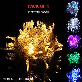 10M Single Colour Festive Decorative LED Light (Assorted colors)
