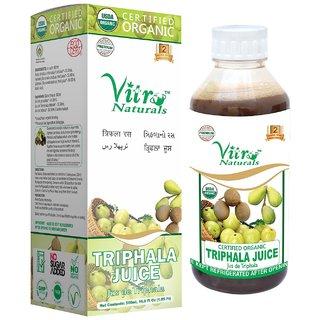 Certified Organic Triphala Juice 500 ml.
