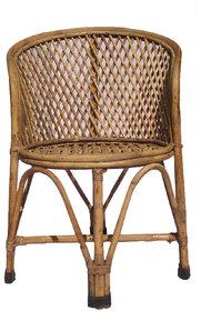 Cane MundaJali Chair with Cushion