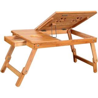 Skyshop Natural Wood Brown Laptop cum Study Table