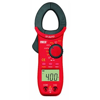 Meco Digital Clampmeter 27TAuto 400A AC, Auto Ranging, 2000 Counts 27T Auto
