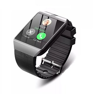 DZ09 Sim Based Smartwatch with Pedometer/ Anti-lost/ Sleep Monitor/ Camera for Android Phones - Color Strictly ASSORTED