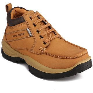 buy red chief rust men low ankle outdoor casual leather