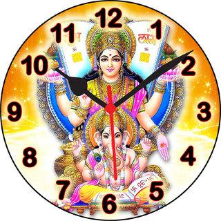 3D laxmi ganesh shubh laabh5 wall clock