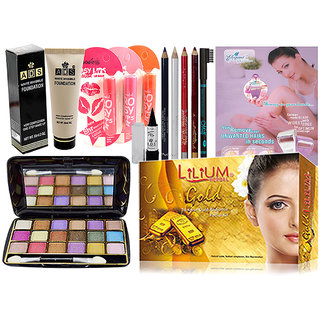 Adbeni Combo Make Up Set Pack Of 11 Pcs