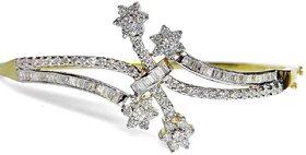 Djewels Diamond Charm Gold Bracelet