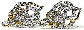 Djewels Contemporary Design Diamond Earring