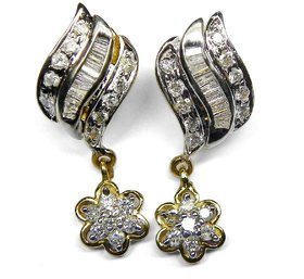 Djewels In Fashion Wedding Diamond Earring