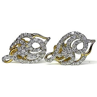 Djewels Contemporary Design Diamond Earring
