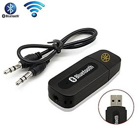 3Keys Bluetooth Stereo Adapter Audio Receiver 3.5Mm Music Wireless Hifi Dongle Transmitter Usb Mp3 Speaker Car