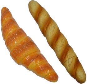 Knott Croissant  Baguette shape fancy writing pen Combo