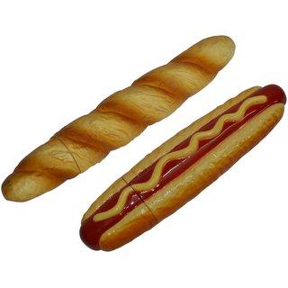 Knott Hotdog Baguette shape fancy writing pen Combo