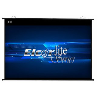 Elcor map Type Projector Screen Size - 6 Ft. x 4 Ft. In Imported High Gain Fabric With 1.2 Gain