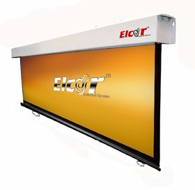ELCOR Wall type Pull down screens 6ft x 4ft with 84 Diagonal In HD, 3D  4K Technology