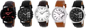 DCH NWC-1 Exclusive 5 Watch Combo For Men's/Boys