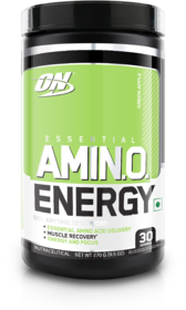 Optimum Nutrition (ON) Amino Energy - 30 Servings (Green Apple)