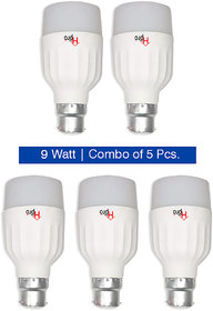 Combo of 9W LED Bulbs HP1 (Pack of 5)