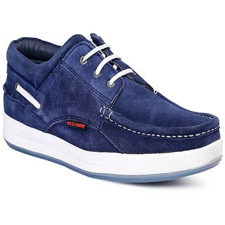 Red Chief Blue Men Sneaker Casual Leather Shoes (RC1363A 002)