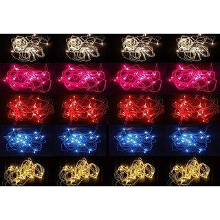 20 Pieces Rice Light Decoration Lighting for Diwali Light, Christmas 12 Feet