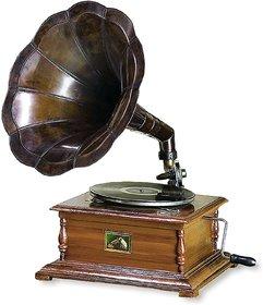 Pack Of 1 Charismacart Metal Gramophone