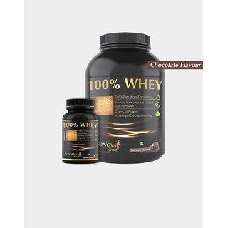 100 Whey Protein 2lb Vanilla Flavor