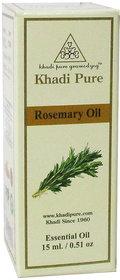 Khadi Pure Herbal Rosemary Essential Oil - 15ml