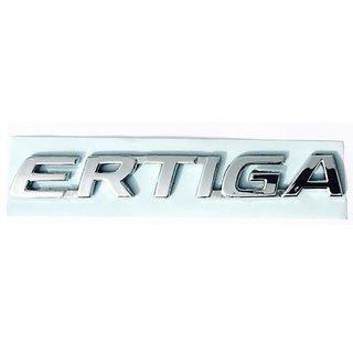 ERTIGA MONOGRAM EMBLEM CHROME for MARUTI SUZUKI ERTIGA BADGE CAR NEW